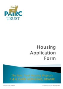 thumbnail of Application Form Carn Aonghais
